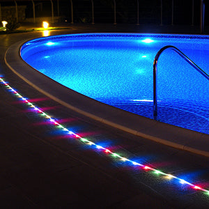 toolcome 40ft Solar Garden Pathway Light Strips
