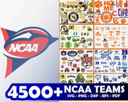4500+ NCAA Teams SVG Bundle