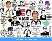 1000+ The Office TV SVG Bundle