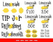 155+ Truly Lemonade SVG Bundle