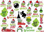 1700+ The GRINCH SVG Bundle