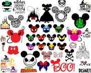 5000+ Disney SVG Bundle