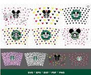 350+ Starbucks Wrap SVG Bundle