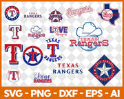 1700+ MLB Teams SVG Bundle