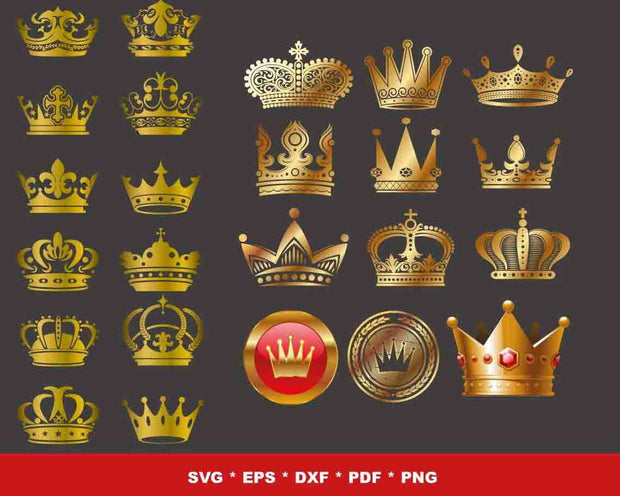510+ King And Queen SVG Bundle