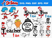 100+ Dr Seuss SvG Bundle