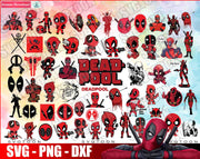 100+ DeadPool SvG Bundle