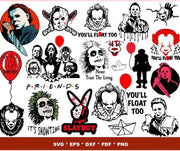 370+ Horror Movies SVG Bundle