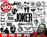 Joker Bundle SvG PnG DxF