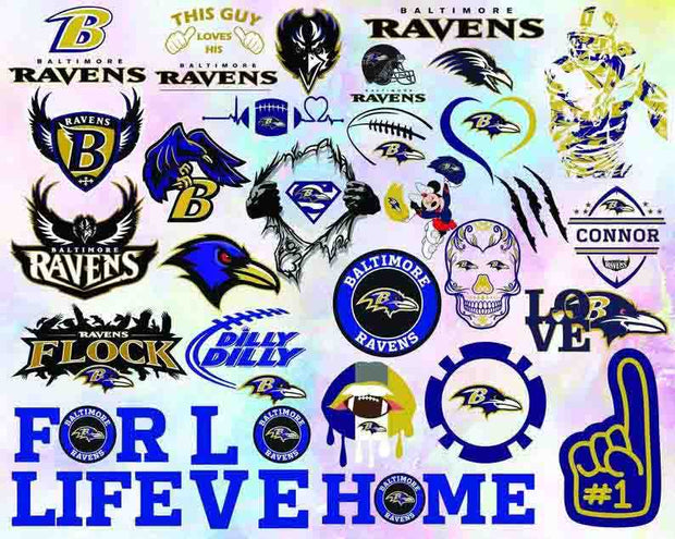 2500+ NFL Teams SVG Bundle