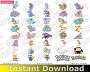POKEMON Bundle SvG PnG