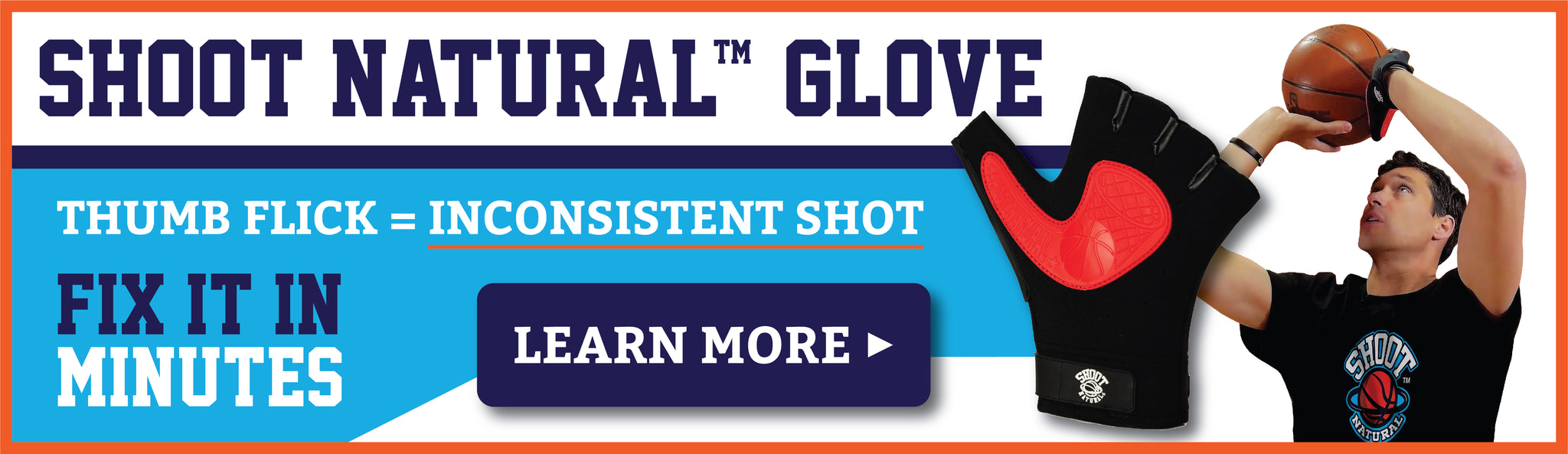 Shoot Natural Glove | Fix inconsistent basketball shot