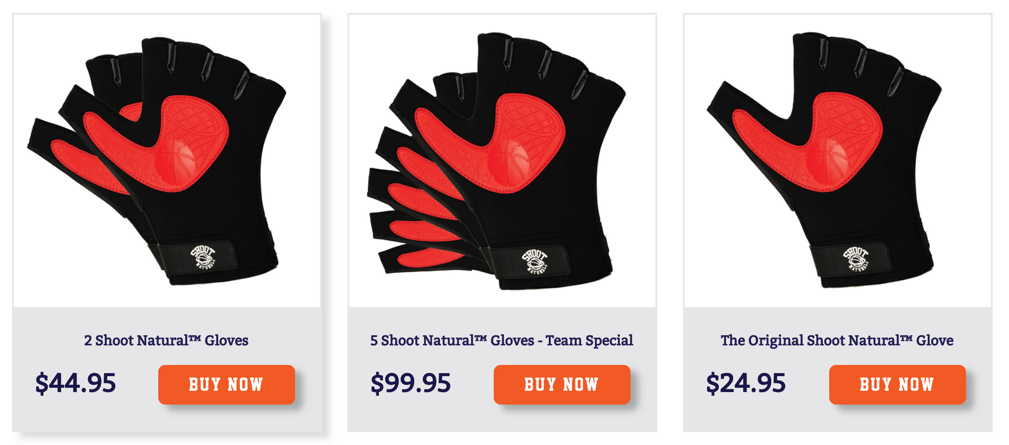 Shoot Natural™ Glove | Fix Inconsistent shot | Basketball shooting aid