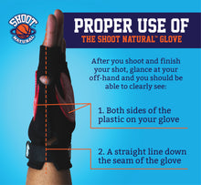 Load image into Gallery viewer, 5 Shoot Natural™ Gloves - Team Special