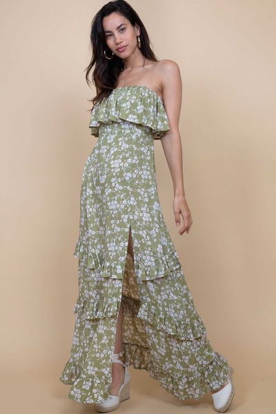 Bangalore Maxi Dress Poppy Field  Aquatique Shop