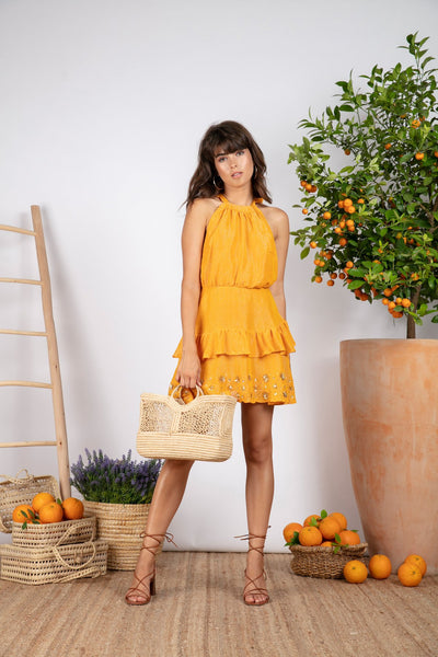 Mini yellow shirt - Sundress - Aquatique Shop