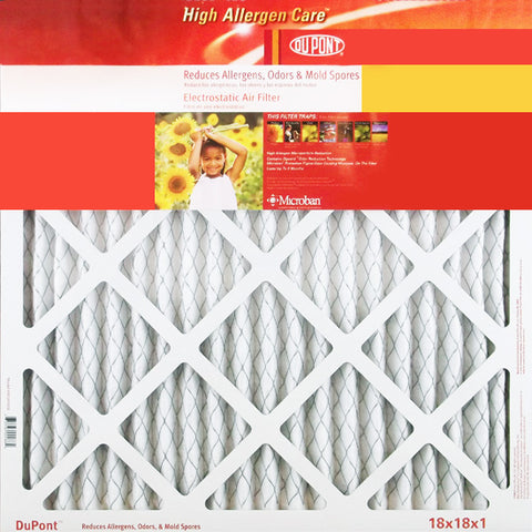 14x25x1 DuPont High Allergen Air Filter