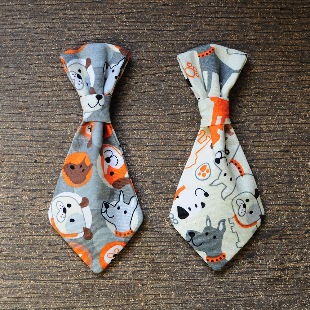Dog Pattern Tie | Bow Wow Ties
