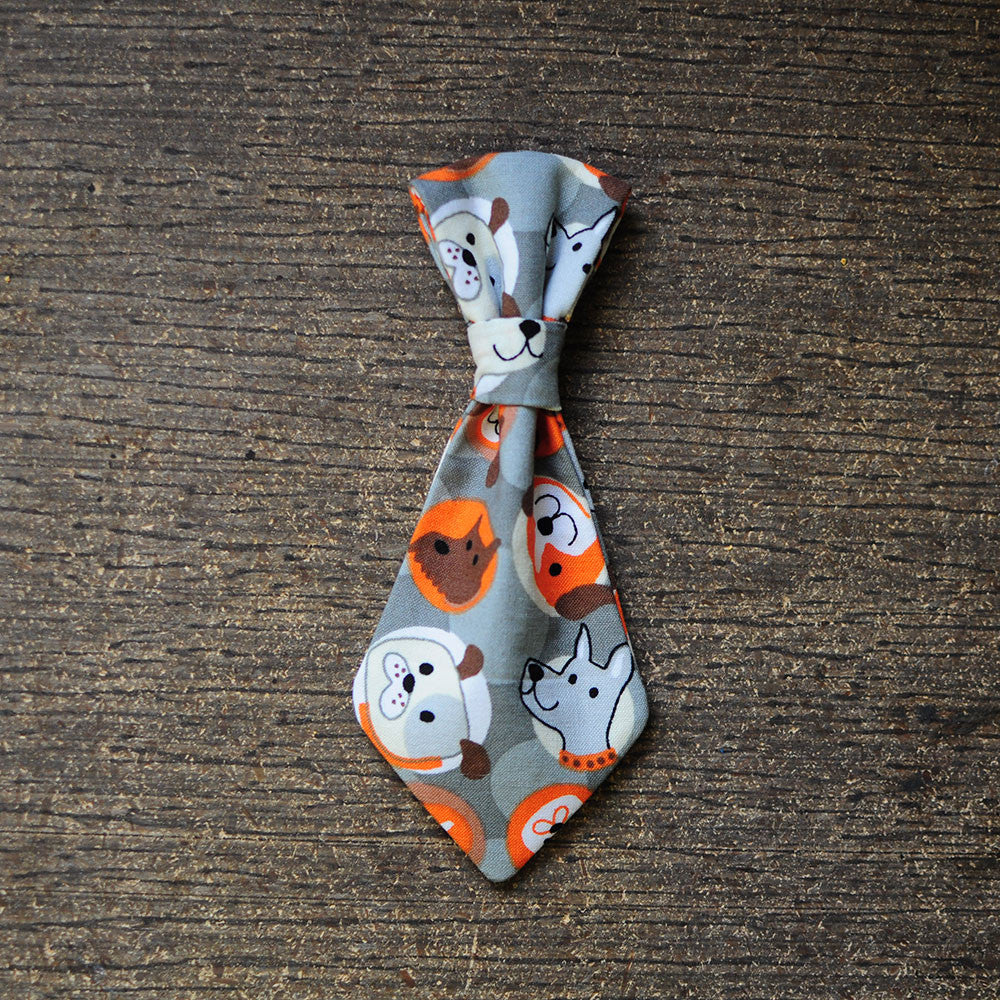 Dog Pattern Tie   Bow Wow Ties