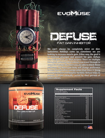 Defuse™ Fat Gain Inhibitor - Evolutionary Muse