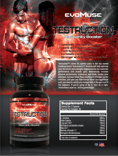 Testruction™ 2 Bottle Sale - Evolutionary Muse