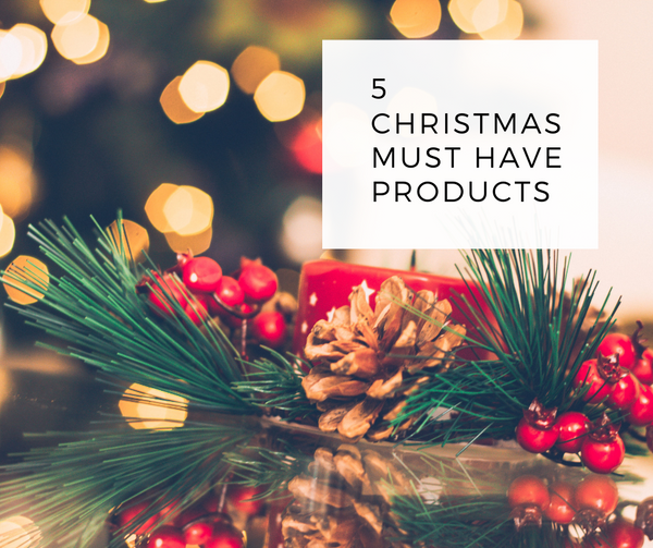 5 Christmas Must Have Products🎄