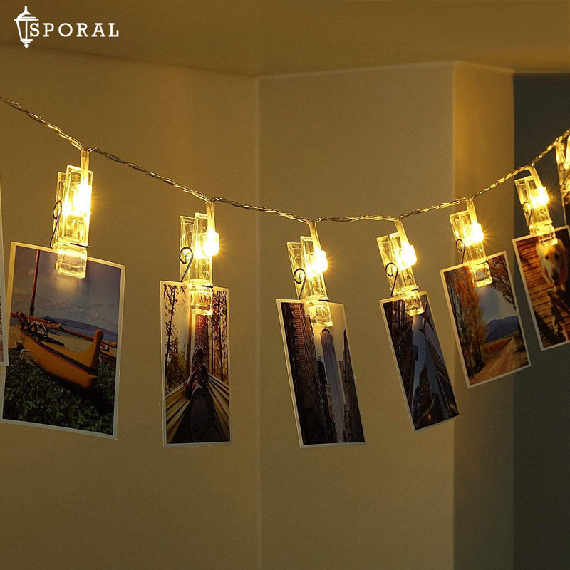 Photo Clip Strip Lights