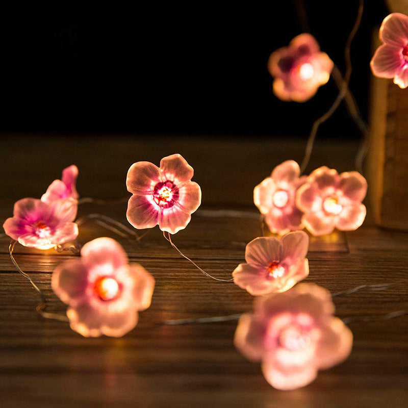 LED Peach Blossom String Light