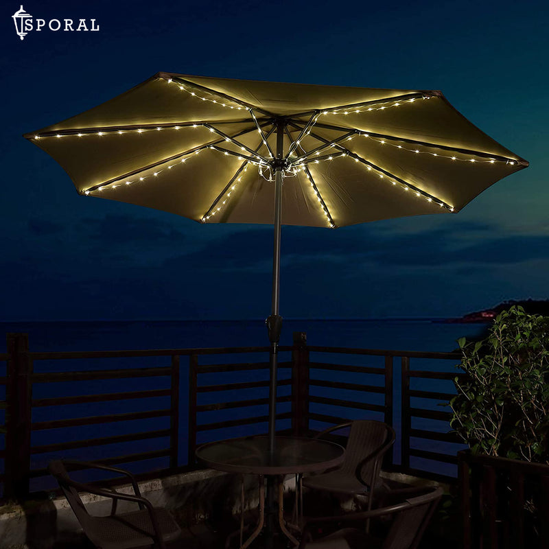 LED Umbrella Pole Light