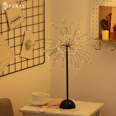 LED Copper Wire Tree Light