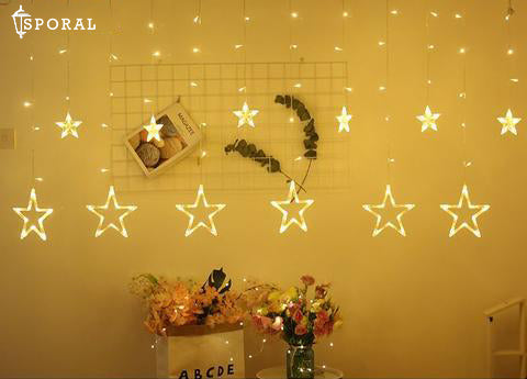 LED Star String Lights