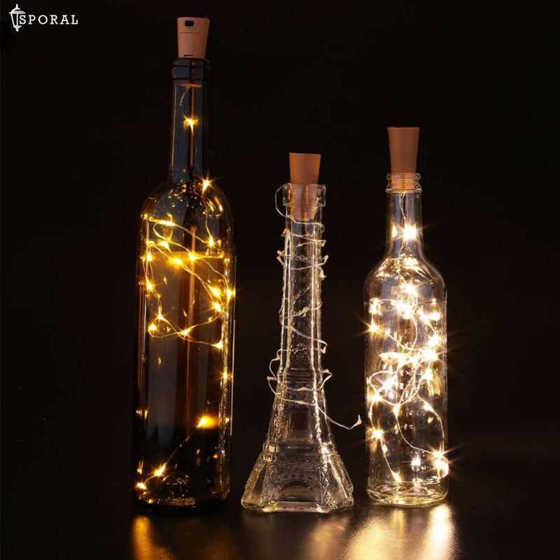 10 Pcs Copper Wire Cork Light