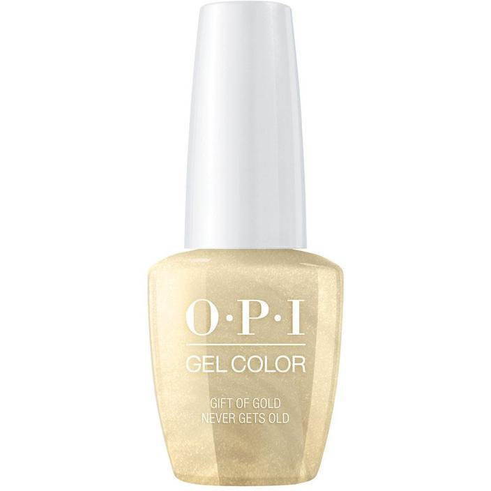 OPI Gel - Gift of Gold Never Gets Old (GC HP J12)