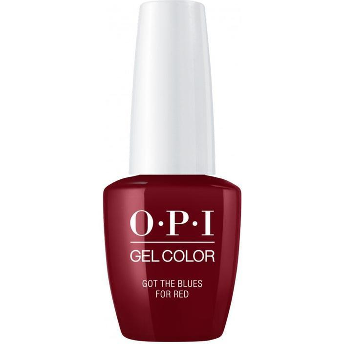OPI Gel - Got the Blues for Red (GC W52)