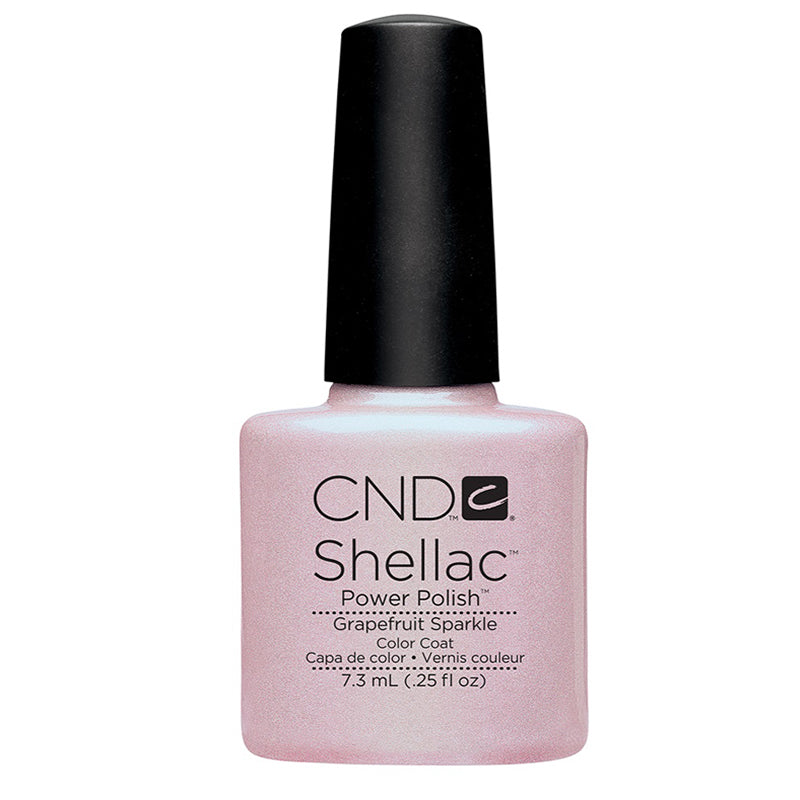 CND Shellac Grapefruit Sparkle-Nail Supply UK