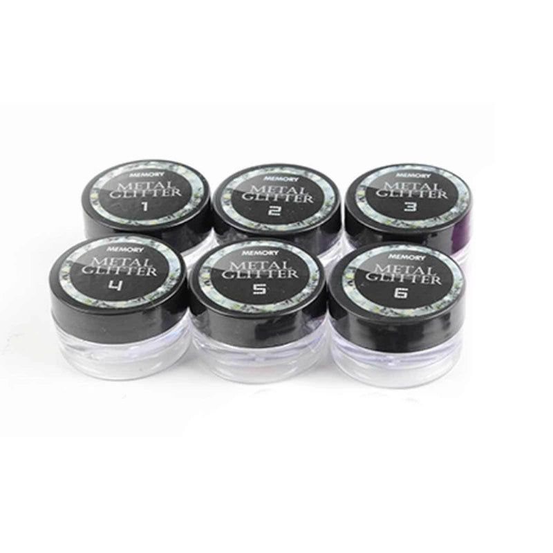 Metal Glitter Chrome Powder Set