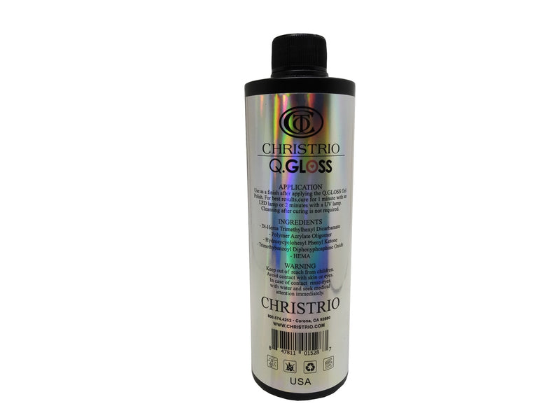 Christrio Q-Gloss Top Coat 16oz