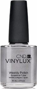 CND Vinylux Polish - Silver Chrome