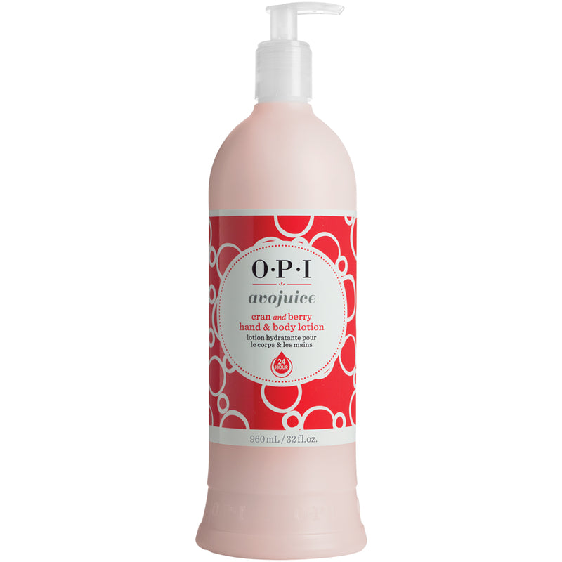 OPI Avojuice Lotion - Cran & Berry 960ml