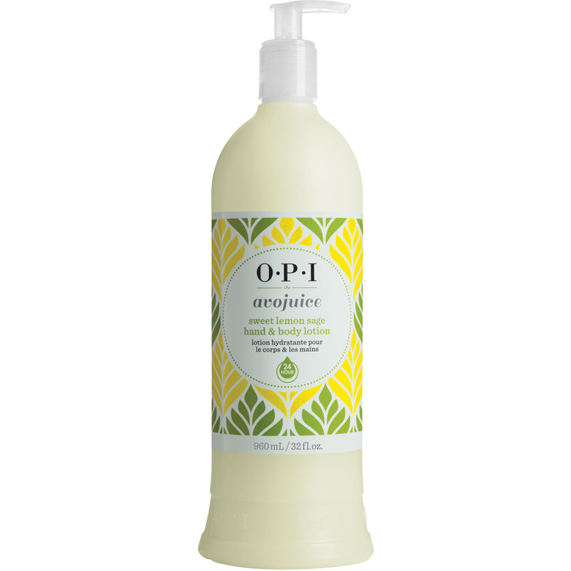 OPI Avojuice Lotion - Sweet Lemon Sage 960ml