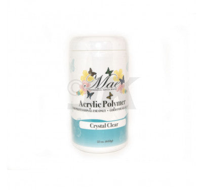 Mae Acrylic Powder - Crystal Clear (23oz/652g)