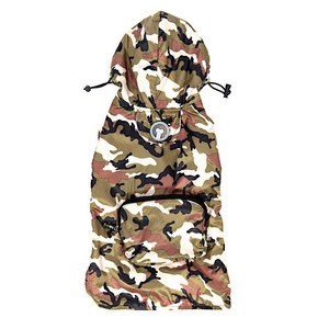 Fabdog Packaway Raincoat - Camo