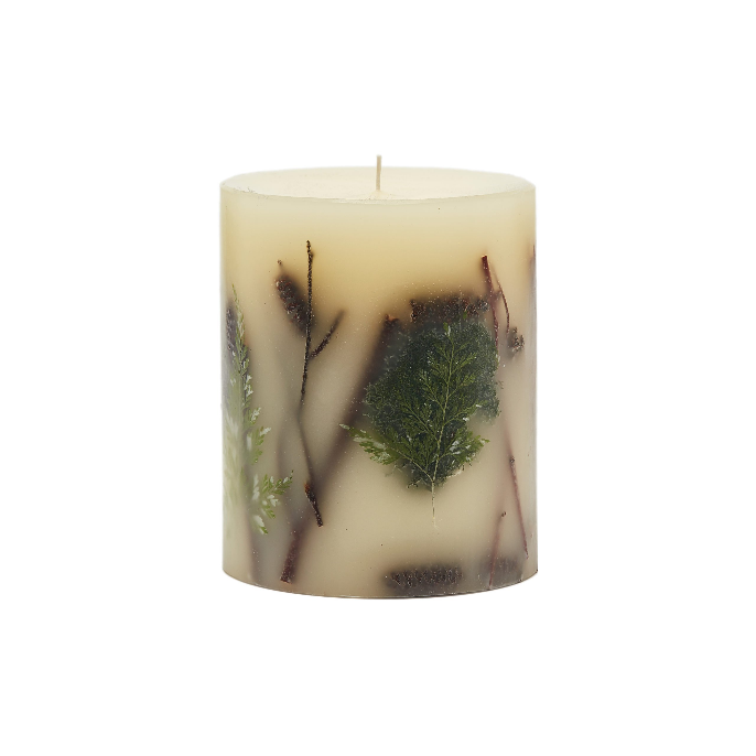 "Rosy Rings 5"" Forest Botanical Candle 120 Hour Burn"