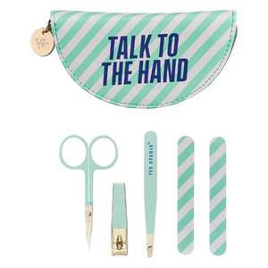 Wild & Wolf 'Talk to the Hand' Manicure Set