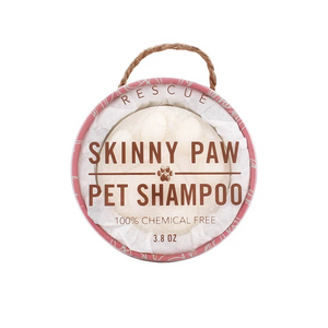 Skinny & Co Dog Paw Bath Bar - Rescue