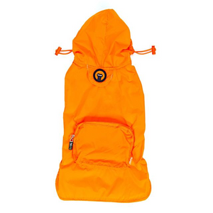 Fabdog Packaway Raincoat - Orange
