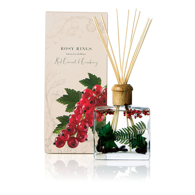 Rosy Rings Botanical Diffuser- Red Currant & Cranberry -Last 6-9 Months