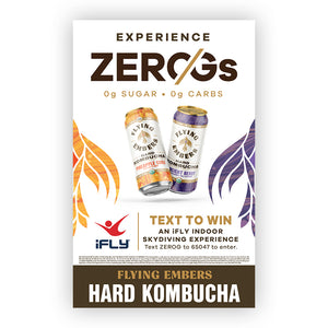 Experience Zero G National Sweep Case Card (15)