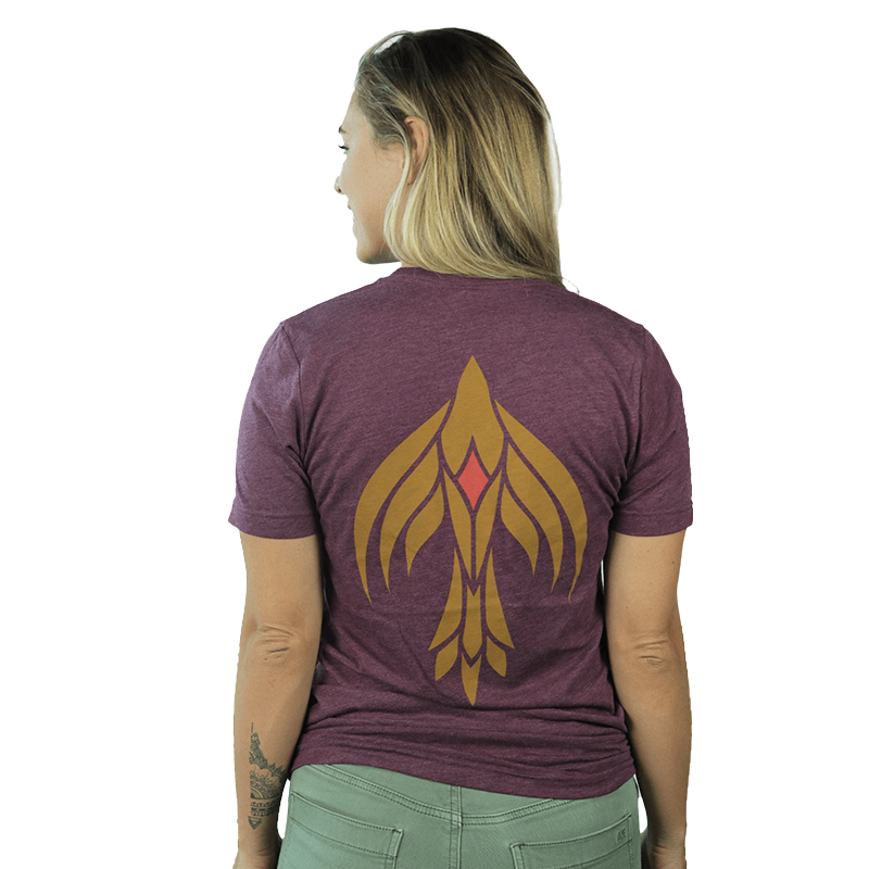 Load image into Gallery viewer, T-SHIRT, BURGUNDY