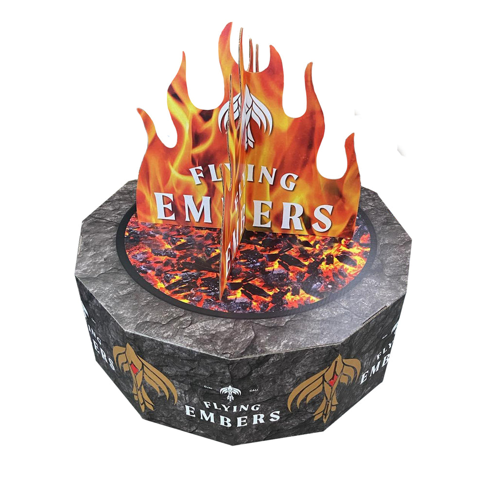 Flying Embers Corrugated Fire Pit (5/pk)